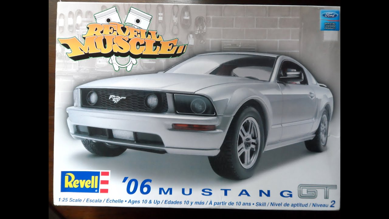 Model kit review revell 2006 mustang gt 09 02 14 youtube