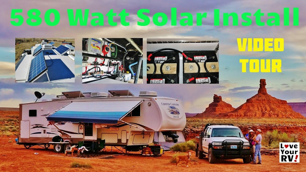 How to install a solar system on an rv - How To Install A Solar System On An Rv 34