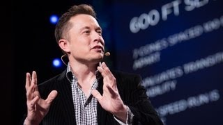 The mind behind Tesla, SpaceX, SolarCity ... | Elon Musk(Entrepreneur Elon Musk is a man with many plans. The founder of PayPal, Tesla Motors and SpaceX sits down with TED curator Chris Anderson to share details ..., 2013-03-19T16:22:17.000Z)