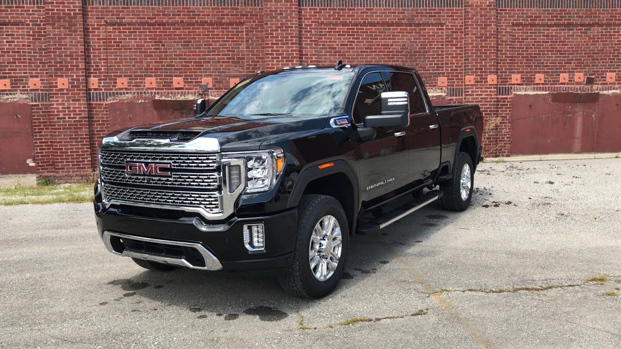 2020 GMC Sierra 2500HD Denali Ultimate In Depth Walk ...