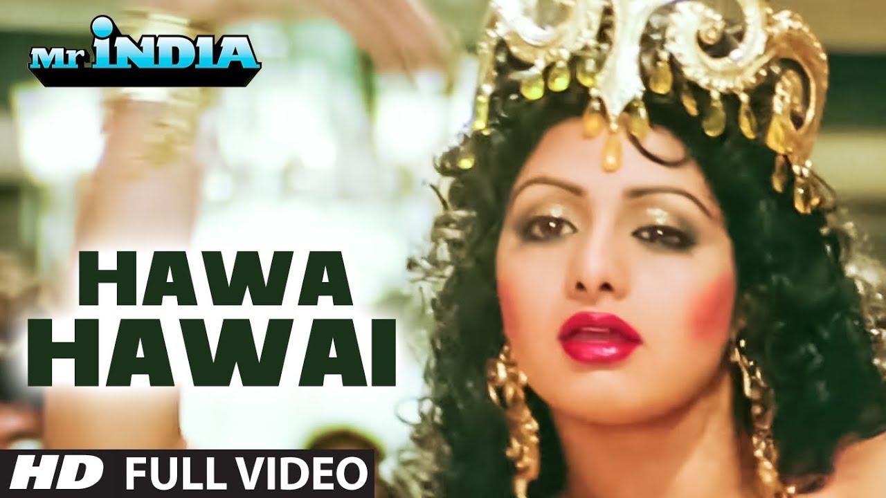 Hawa Hawai Mr India Full Video Song Sridevi Kavita Krishnamurthy Youtube