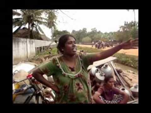 Tamil women displaces talk - YouTube