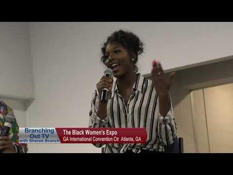 The Black Women's Expo 2019 Atlanta, GA On Branching Out TV