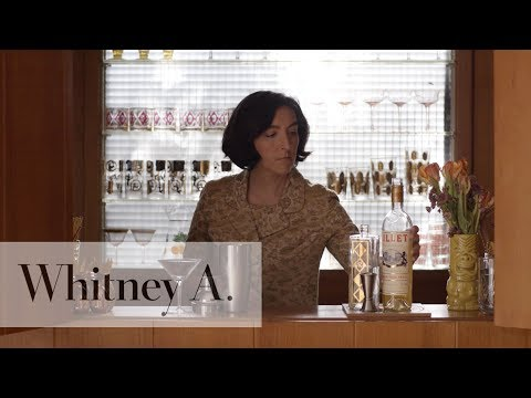 Lillet Martini Inspired By First Man | Whitney A.
