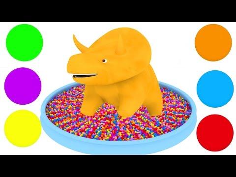 Мультфильм про форму и цвет