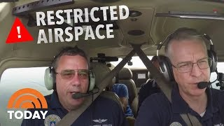 See What Happens When A Plane Violates Presidential Airspace | TODAY thumbnail