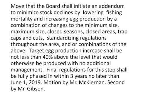 American Lobster Board Proceedings2 May 2016