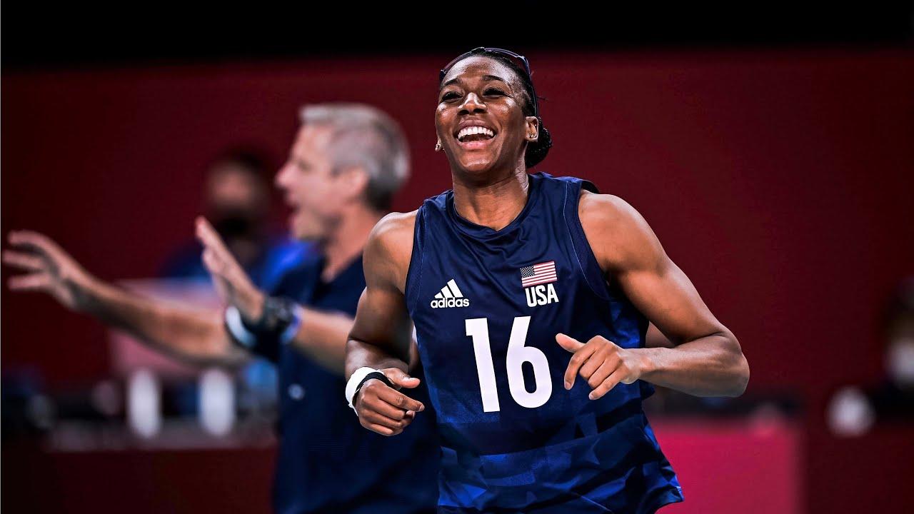 Download Foluke Akinradewo Gunderson   Path to the Podium   USA Volleyball