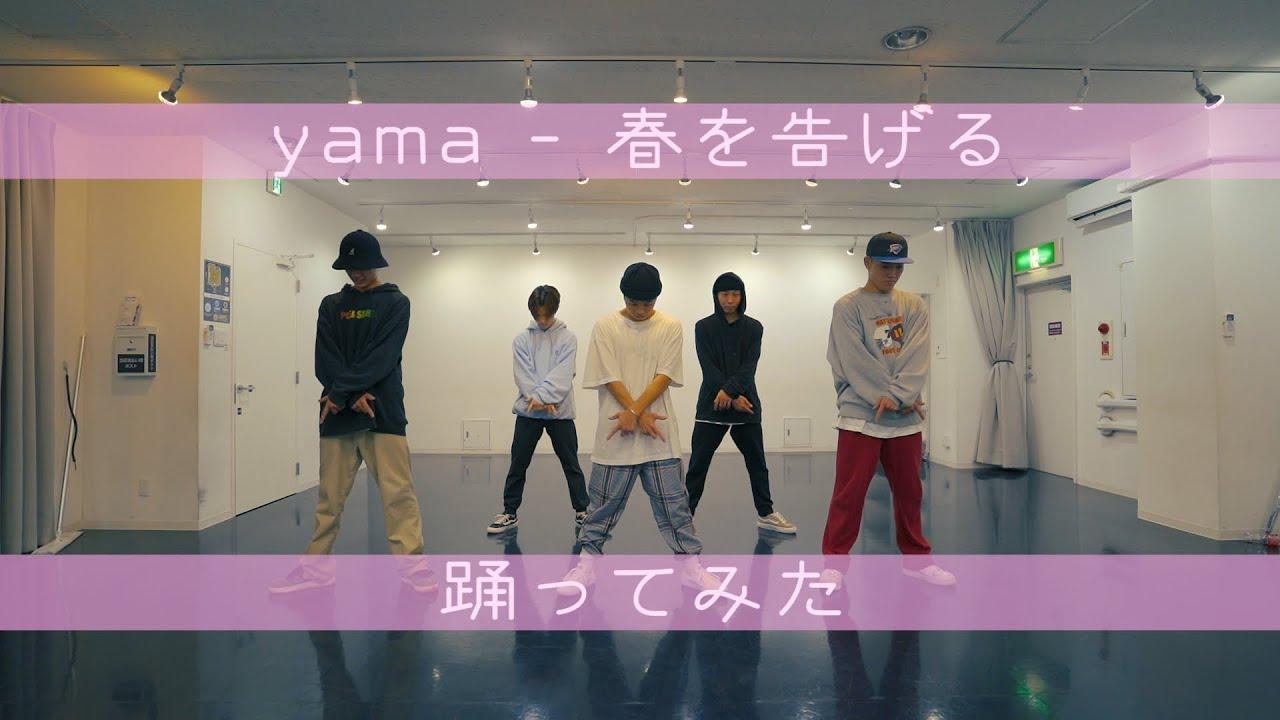 【プロダンサーが踊ってみた】春を告げる - yama | YDK Apartment
