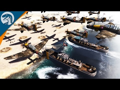 GERMAN D-DAY IN GREECE | GAW MOD | Men of War: Assault Squad 2 [MOD] Gameplay
