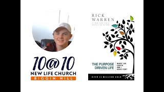 10@10 - The Purpose Driven Life - Day 15 - The Holdens