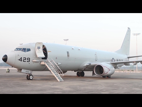 P-8A Poseidon Flight