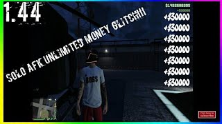 GTA Online Solo AFK Money Glitch | 100% Legit! [PS4, X1, PC]