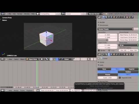 SMPTE Support in Blender - patch