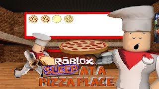 (RIP OFF?!?) 😴Sleep At A Pizza Place! [ROBLOX]