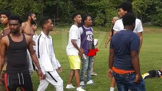 21 Savage Pulls Out A PISTOL During FIGHT At Pool Party In Atlanta!!