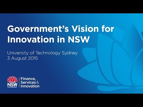 Government's Vision for Innovation in NSW