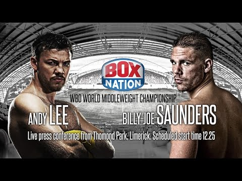Andy Lee and Billy Joe Saunders Press Conference 14th July 2015