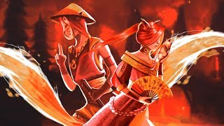 Fantasy Music - Fire Foxes (animated)