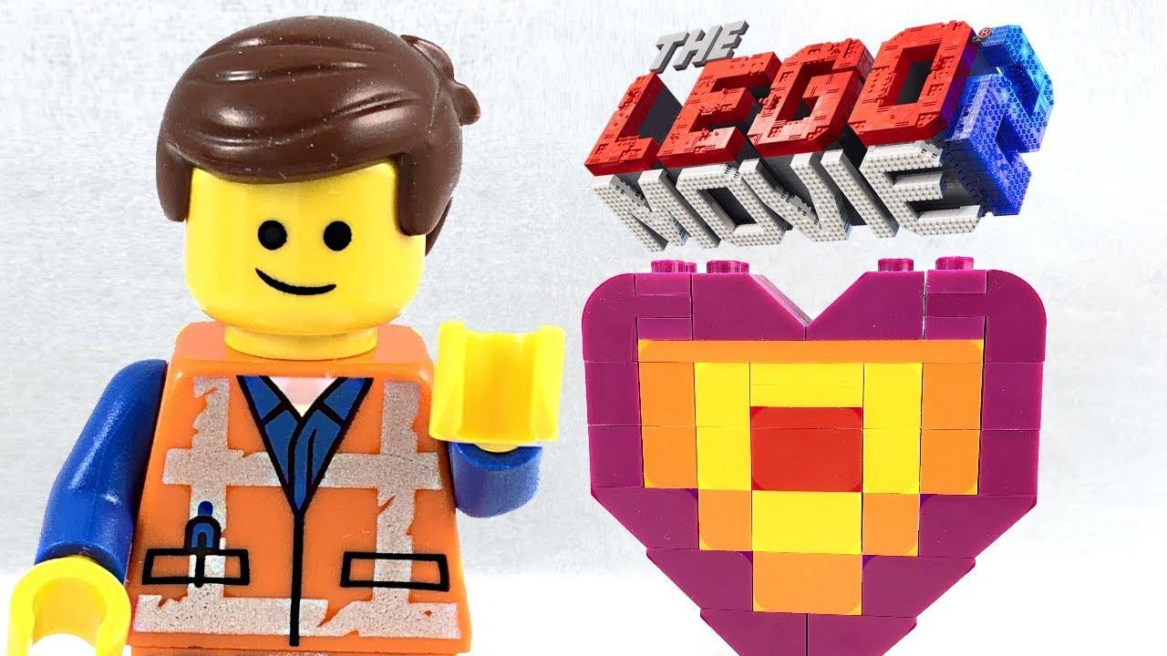 The LEGO Movie 2 Set 30340 EMMETS PIECE OFFERING HERZ POLYBAG NEU LEGO Baukästen & Sets