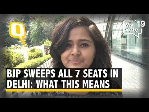 Delhi Chooses Brand Modi Over Local Players, BJP Sweeps 7 Seats | The Quint
