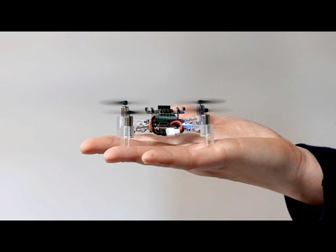 Swarm exploration by tiny flying robots