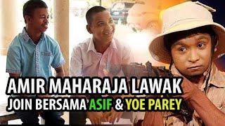Amir ML Cuba Join Asif dan Yo Parang LIVE di Pentas