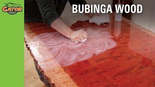 Gator Finishing Products - Bubinga Board Project