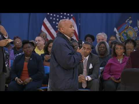 Mayor de Blasio Hosts Town Hall
