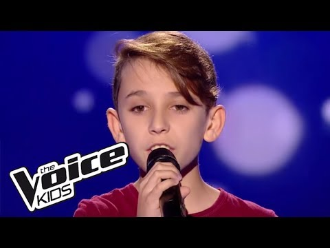 """Cyril - """"When we were young"""" - (Adele)    The Voice Kids France 2017   Blind Audition 4"""