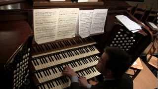Sir Edward Elgar: Organ Sonata in G major: ii - Allegretto (2/4)