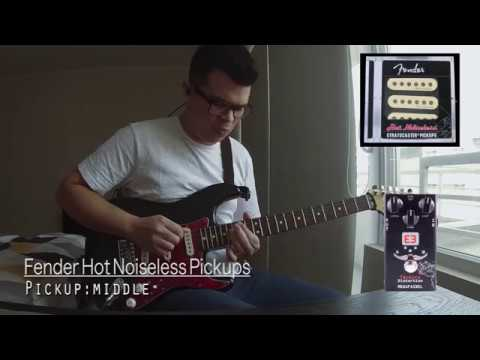 Fender Hot Noiseless Pickups - Nelson Hernández