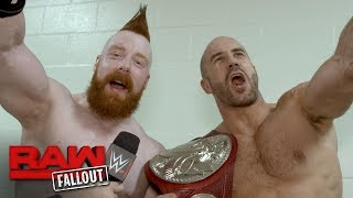 Cesaro & Sheamus on why The Hardys got lucky: Raw Fallout, June 12, 2017