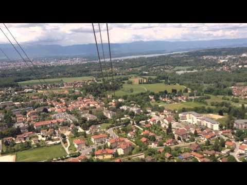 téléphérique du salève Geneve Suisse