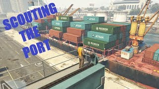 GTA V Story Mode#24 Scouting The Port By GameOnChannel