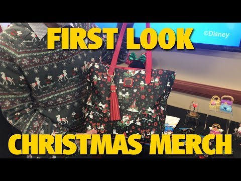 First Look at Christmas Merchandise with Steven Miller | Walt Disney World