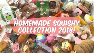HUGE Homemade Squishy Collection 2018! | mishcrafts