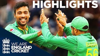 Pakistan Win Despite Roy's 87 | England v Pakistan 5th ODI 2016 - Highlights
