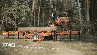 Wood-mizer Lt40 Mobile Sawmill - Europe
