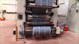 PROMATEK MAKİNE (TURKEY) 8 COLOUR CENTRAL DRUM FLEXO PRINTING MACHINE