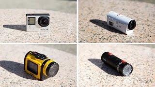 GoPro Hero4 Silver vs Sony Action Cam Mini vs Replay XD Prime X vs Kodak SP1
