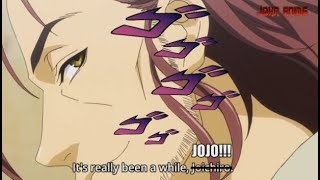 jojo fans perspective when they hear dios voice actor in a different anime
