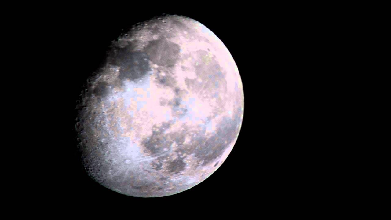 La Luna en HD Nikon D3100 - YouTube