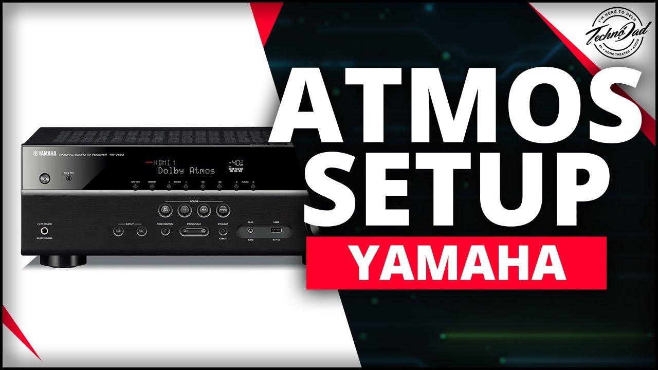 yamaha rx v583 unboxing dolby atmos setup youtube. Black Bedroom Furniture Sets. Home Design Ideas