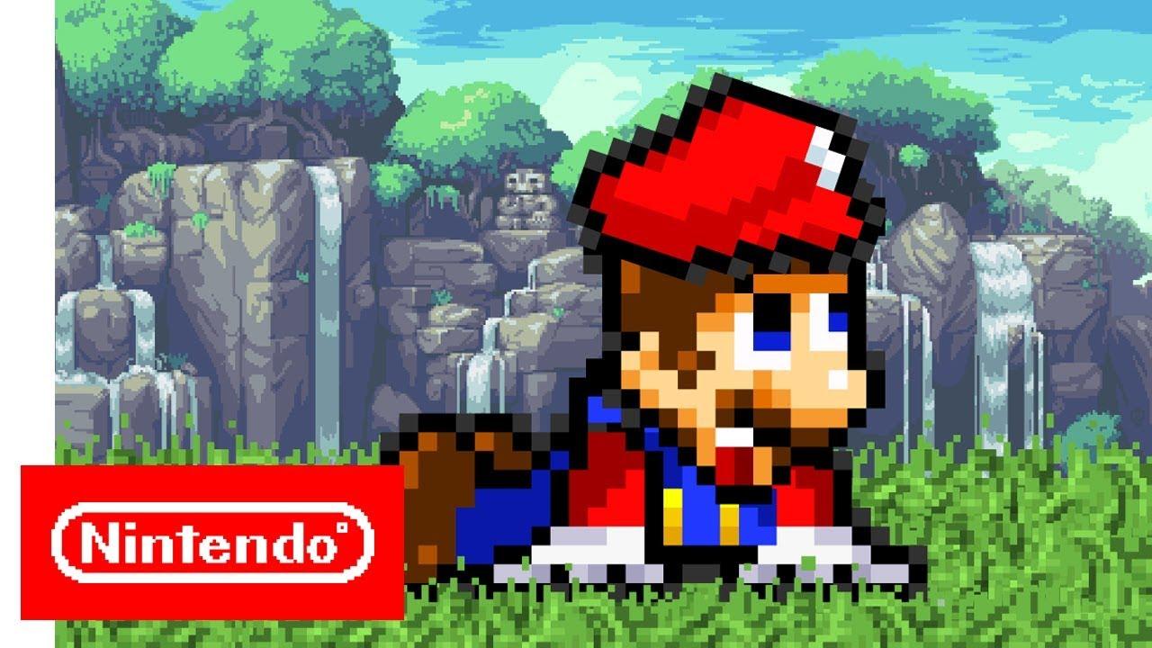 Super Mario Odyssey Trailer 2 Retro Pixels Version Youtube