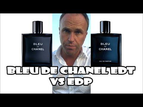 Bleu de Chanel Eau de Toilette vs Eau de Parfum Fragrance Review
