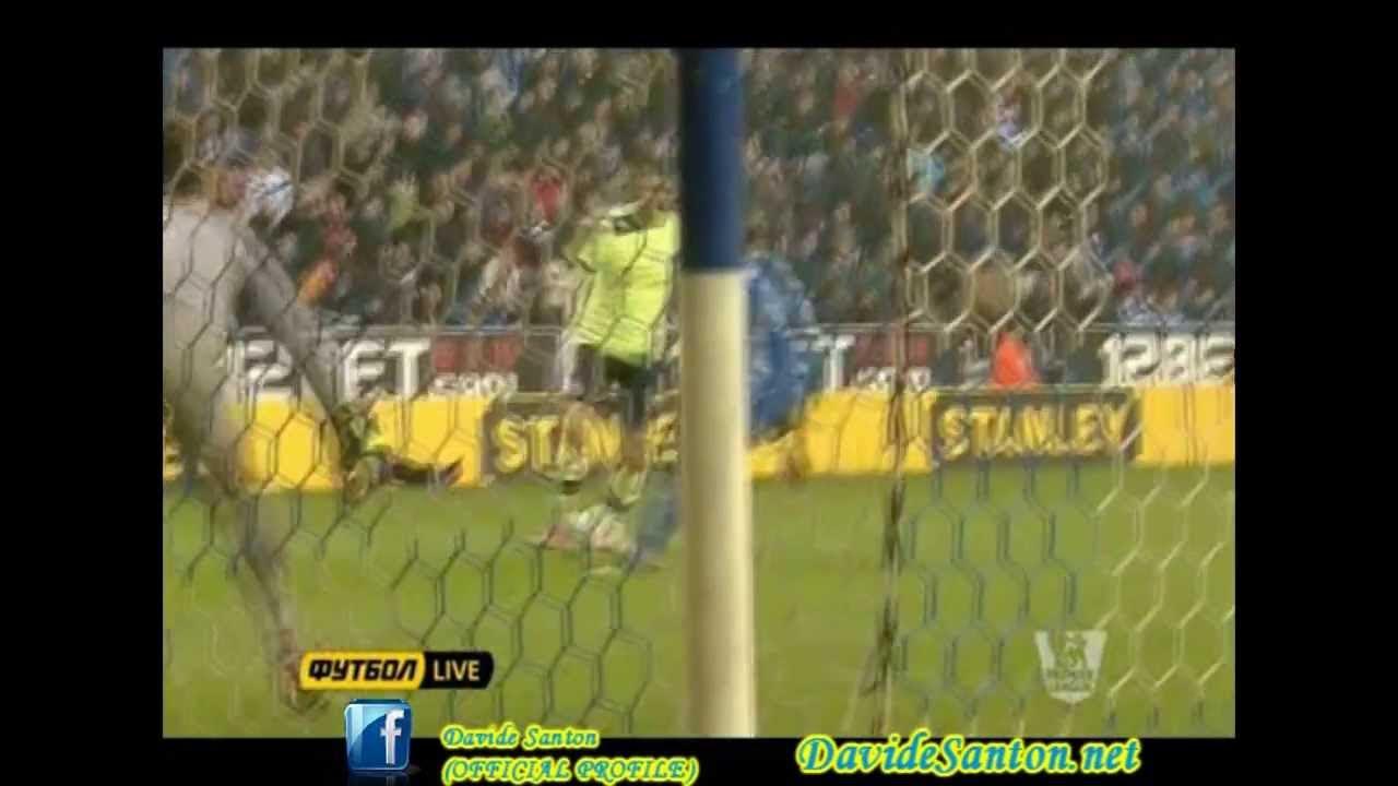 Davide Santon vs Wigan - First Goal In Career