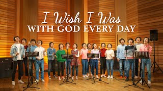 """I Wish I Was With God Every Day"" 