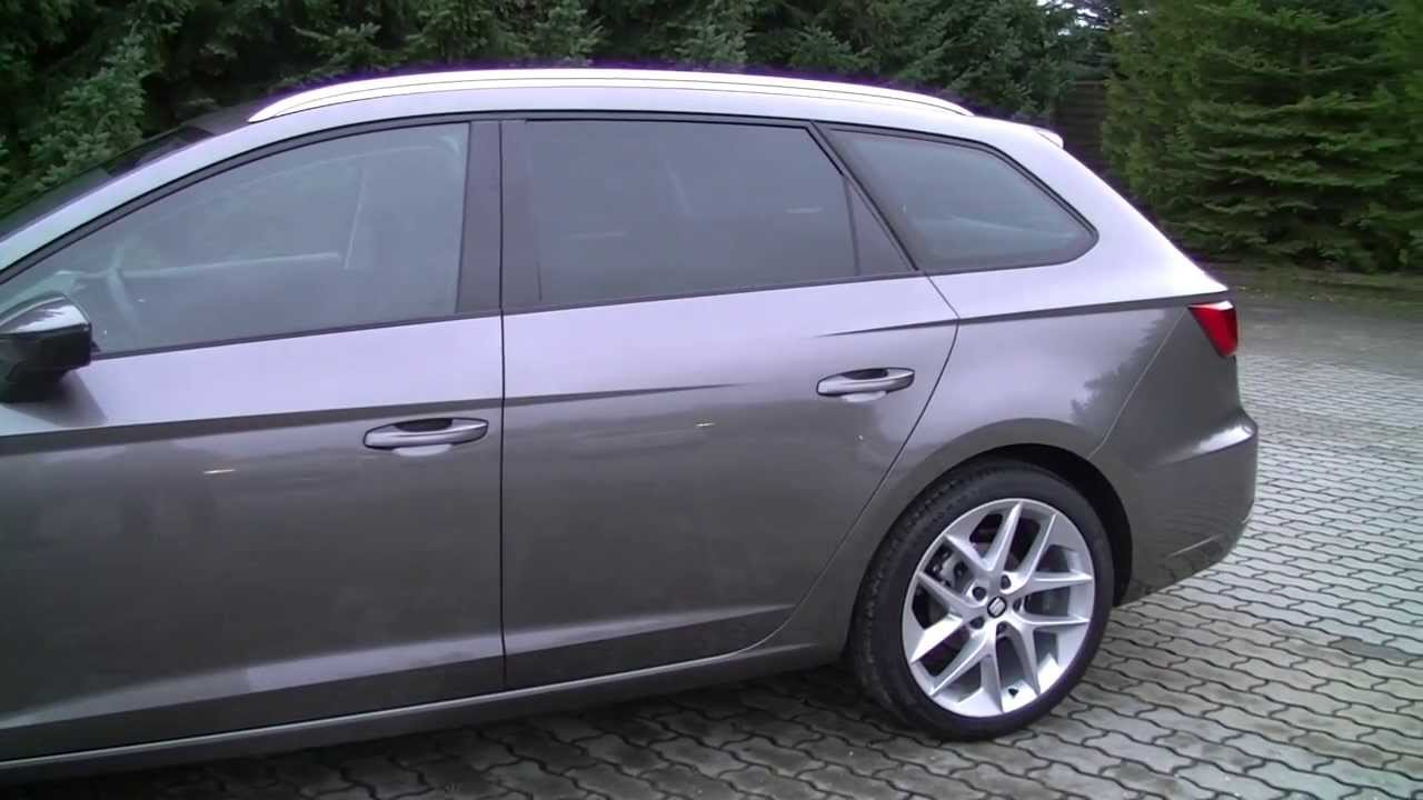 seat leon st fr review hd deutsch youtube. Black Bedroom Furniture Sets. Home Design Ideas