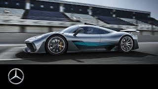 Mercedes-AMG Project ONE: Formula 1 Technology for the Road   IAA 2017